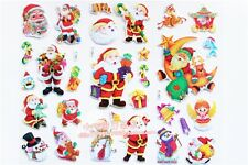 Wholesale Buble 50 Sheets Santa Claus Paper Sticker for Scrapbooking Diary Decor
