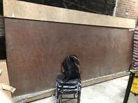 "MASSIVE Old Bubinga Wood Slab Exotic Raw Lumber Rustic 2"" X 65"" X 163"" Table Bar"