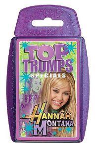 Top Trumps - Hannah Montana (Miley Cyrus)