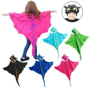 Dinosaur Costume Toothless Costume Cloak with Hat Toothless Dragon Costume