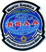 ZOMBIE OUTBREAK RESIDENT EVIL NORTH AMERICA BSAA BIO SECURITY ALLIANCE INSIGNIA