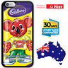 TPU Rubber Shockproof Bumper Case Cover Funny Memes Cute Cadbury Caramello Koala