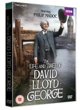 THE LIFE AND TIMES OF DAVID LLOYD GEORGE complete BBC series. 3 discs. New DVD.