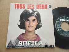 """DISQUE 45T DE SHEILA  """" TOUS LES DEUX """""""