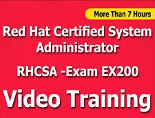 Rhca Red Hat Certified System Administrator Ex200 Exam video training tutorials