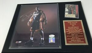 Dwyane Wade Miami Heat NBA Signed Autographed 8x10 Photo COA