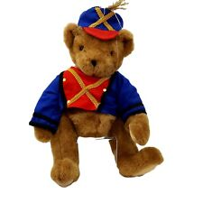 Vermont Teddy Bear Company Red Blue Gold Uniform 1997 Vintage Tin Soldier