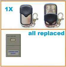 3 x Steel-Line Door Multi-Code Multicode Garage Gate Remote HT6M SteelLine