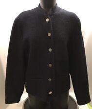 Pre WW II Original ALPHORN Trachtenmode Von Adler Sz 40 Navy Blue 100% Pure Wool