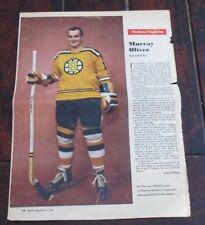Murray Oliver No. 8 issue Weekend Magazine Photos 1962 -1963 Toronto Star