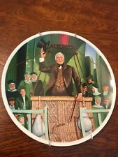 Professor Marvel Wizard of Oz Cinema Movie Decorative Plate Excellent by Knowles