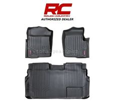 2011-2014 Ford F-150 SuperCrew Rough Country Fitted Floor Mats - SET [M-51112]