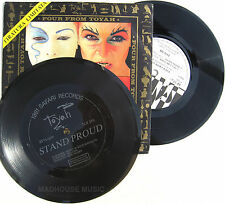 "Punk TOYAH 7"" + FLEXI Four From Toyah + Stand Proud EP ITALIAN UNPLAYED 1981"