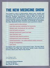 The New Medicine Show by Consumer Reports Books (1989,Paperback)