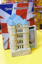 BRITISH LONDON TOWER BRIDGE CERAMIC COFFEE TEA COLLECTABLE MUG
