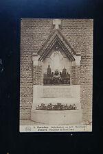 Roeselare Roulers Belgium Monument au Sacre-Coeur Vintage Flion RP Postcard
