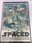 Tyler Stout Spaced Art Print 2008 Mondo Simon Pegg Edward Wright(Uncertain) Read