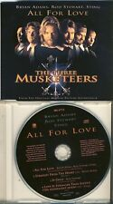 The three Musketeers-All for Love Sting Bryan Adams Rod Stewart