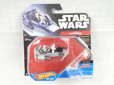 Star Wars:The Force Awakens Die Cast F.O.Snowspeeder Toy By Hot Wheels NIB!