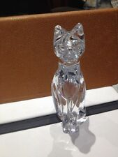 Daum Crystal Cat New Made In France