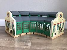 Thomas The Train Wooden Railway Tidmouth Shed Roundhouse Station Tomy