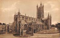 uk20753 gloucester cathedral SW real photo uk
