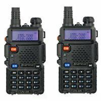 DHL 2x BaoFeng UV-5R FM Dual Band UHF / VHF 128CH Talkies-walkies ham Radio