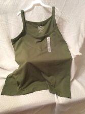 NWT Fashion Bug Women's Sleeveless Strap Cami/tank Size XL Color Green