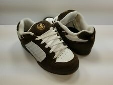 DVS Contra Men's Brown White Skate Shoes - Size 8