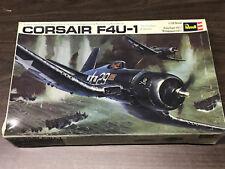 Revell Corsair F4U-1 Aircraft Model Kit #H-278 Vintage 1970 Kit 1/32