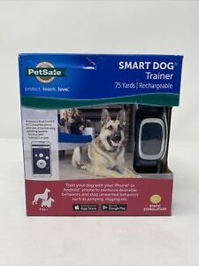 PetSafe Smart Dog Remote Trainer Collar Smart-Phone Based Training to 75 Yards