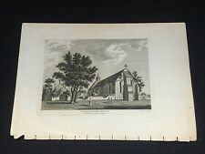 """Antique Print Of """"The Great Hall Of Beaulieu Abbey"""""""