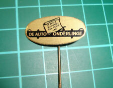 De Auto Onderlinge - bumper car - stick pin badge 60's speldje