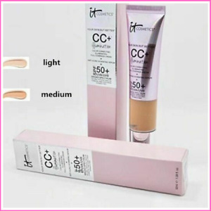 IT COSMETICS CC+ CREAM MEDIUM/LIGHT ILLUMINATION SPF50+FULL COVERAGE FOUNDATION