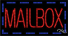 """New """"Mailbox"""" 32x17 Solid/Animated Real Led Sign w/Custom Options 21090"""