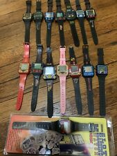 15 Mint Working Nintendo Nelsonic game Watch (Zelda,Mario,Donkey Kong,Qbert,Car!
