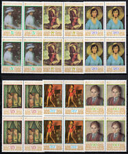 BULGARIA 1987  BULGARIAN PAINTINGS ART BLOCKS OF 4 MNH  **