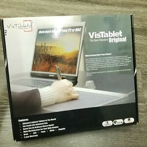 VisTablet Graphic Pen Tablet 98-903w10211-000 White 12in ~ New