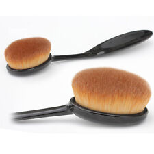 1* Fine Oval Make-Up Brush Cream Cosmetic Blend Foundation Blending Beauty Tools