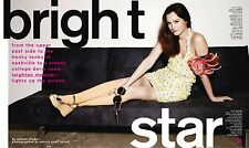 Leighton Meester 10pg + cover NYLON magazine feature, clippings
