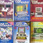 Your Computer Magazine, Dec 81 - Feb 88 (vintage, Retro, 8-bit, Basic, Games)