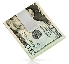 New Stainless Steel Money Cash Clip Clamp Holder For Pocket Slim Sleek Style