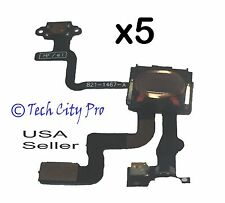Lot of 5 iPhone 4S Proximity Sensor And Power Button Flex Cable + Earpiece