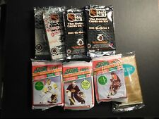 HUGE LOT 1000 UNOPENED HOCKEY PACKS 25+ YRS OLD FREE PRIORITY SHIPPING