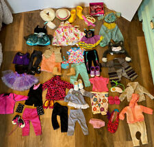 "Clothes And Accessories Lot For American Girl Doll & Other 18"" Dolls"