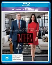 The Intern - Robert De Niro (Blu-ray, 2016) NEVER PLAYED & STILL SEALED