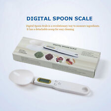 LCD Digital Kitchen Spoon Scale Lab Gram Electronic Food Weighing Measure Tool