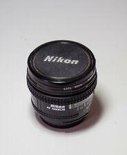 Objetivo Nikon AF NIKKOR 20mm f/2.8D negro, usado perfecto estado