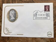 Gb Cotswold Cover 1977 Silver Jubilee, Windsor Pmk
