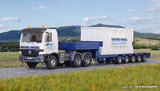 Kibri 13057mb Actros Begleittransporter para LG 1550 Breuer 1 87 H0